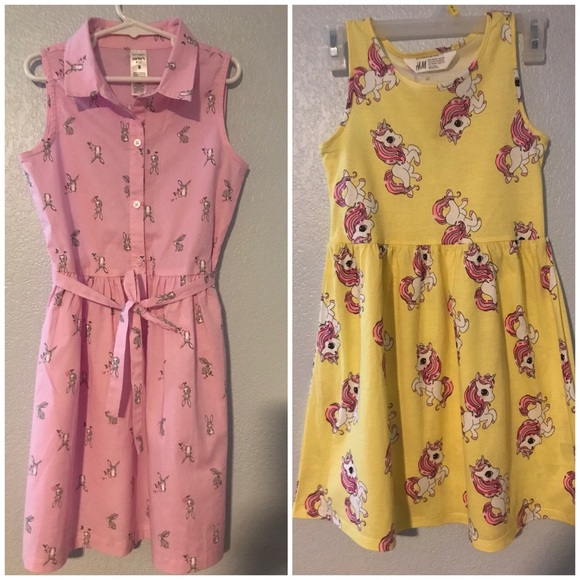 Carter's girls dress & H&M dress